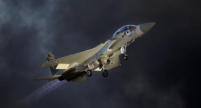 La aviación israelí bombardea el sur de la Franja de Gaza