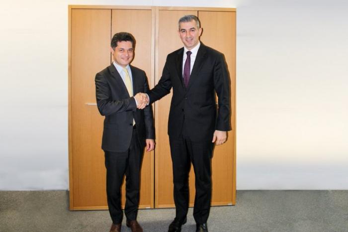 Azerbaiyán y Francia discuten lacooperacion en área migratoria