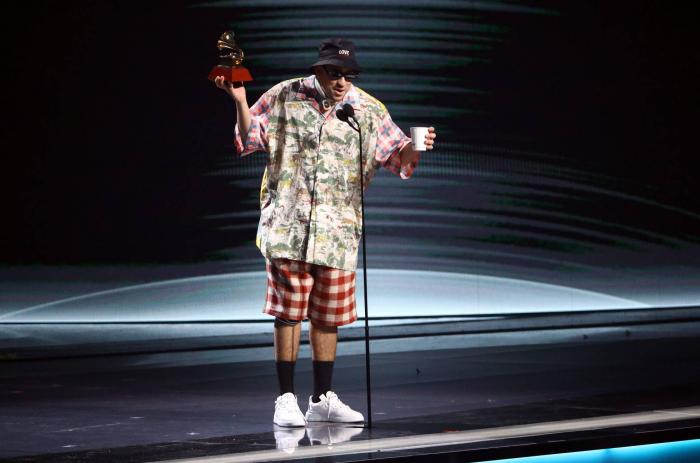 Grammy Latinos 2019:   así desconcertó Bad Bunny a todo el mundo