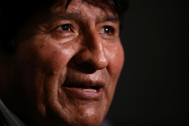 Former Bolivian leader Morales says new elections can be held without him
