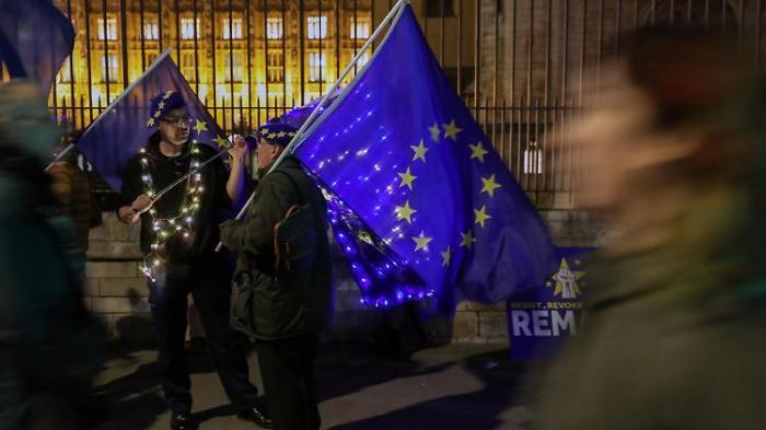 Brexit-Opfer fordern Wahlrecht auf der Insel
