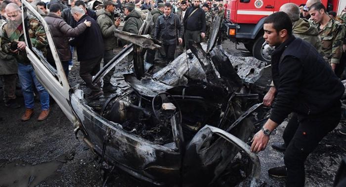 Una decena de muertos por la explosión de un coche bomba en Siria