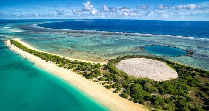 La « tombe » radioactive de l'île Runit, remplie de déchets nucléaires, commence à se fissurer