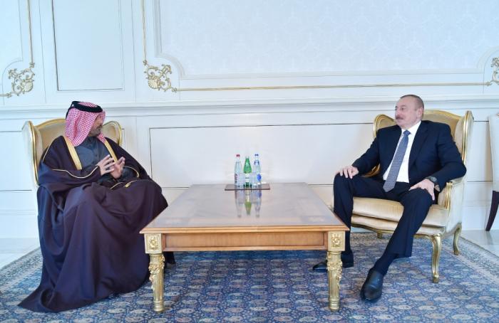 Ilham Aliyev reçoit les lettres de créance des nouveaux ambassadeurs -  PHOTOS
