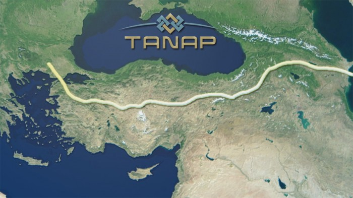Final phase of TANAP to open in Turkey
