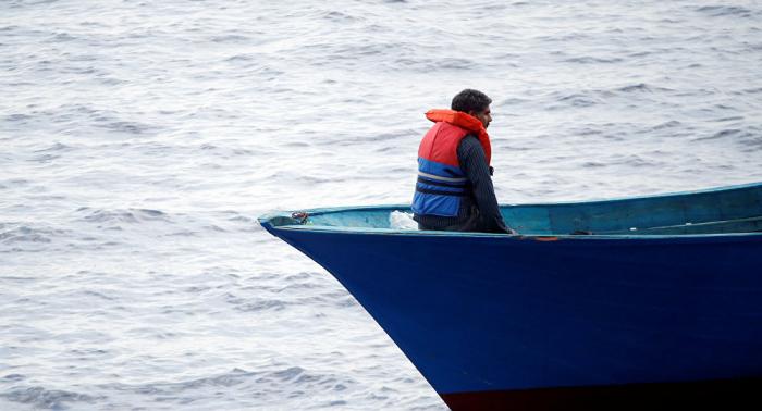 Detienen en el Canal de la Mancha a 40 migrantes rumbo al Reino Unido