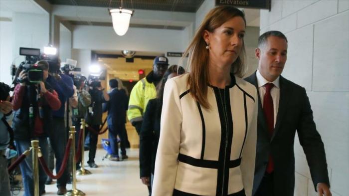 "Trump ataca a testigo que tachó de ""inusual"" su llamada a Zelenski"