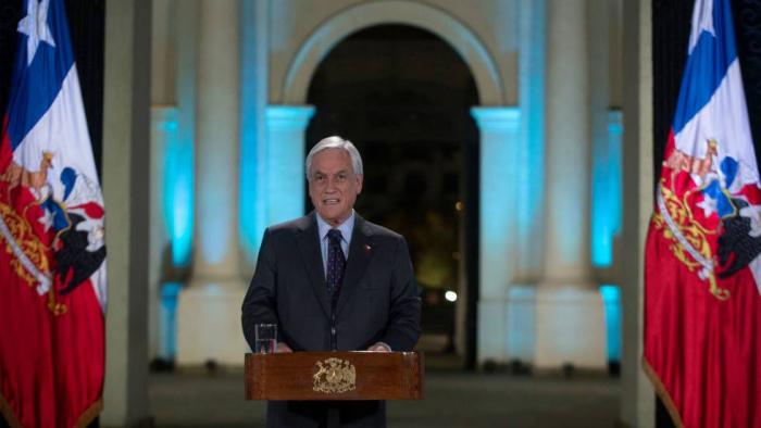 Piñera afirma que no habrá impunidad para la violencia ni en los abusos durante las protestas en Chile