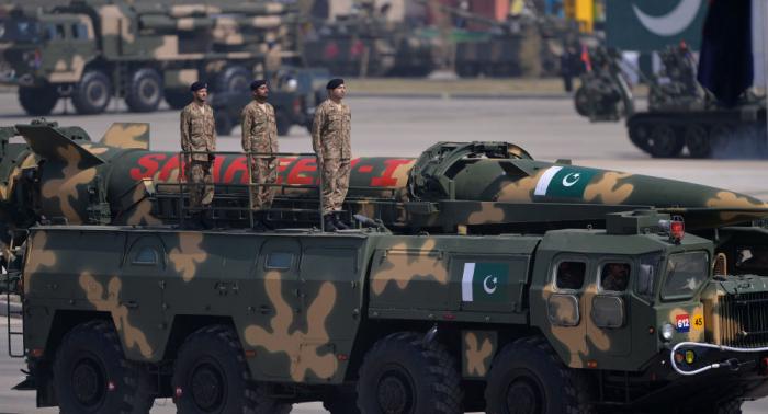 Pakistán realiza ensayo de su misil balístico Shaheen-I