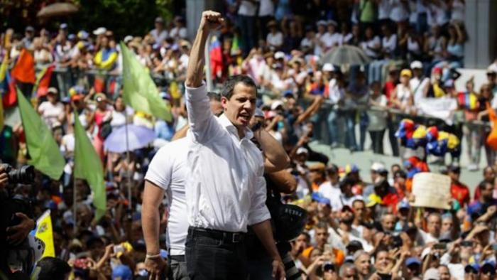 Guaidó convoca hoy otra protesta para respaldar el paro de 72 horas de las enfermeras