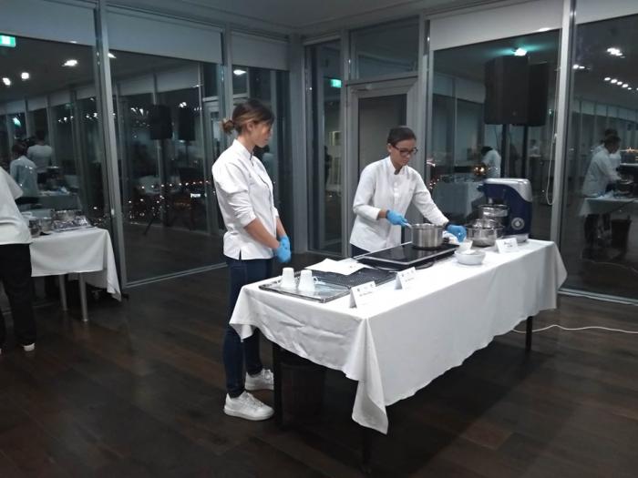 Taller de la chef venezolana en Azerbaiyán