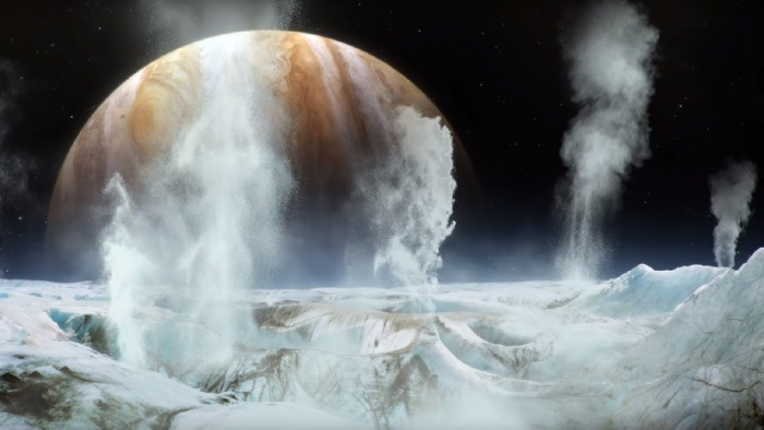 Detectan por primera vez la presencia de vapor de agua en un satélite de Júpiter
