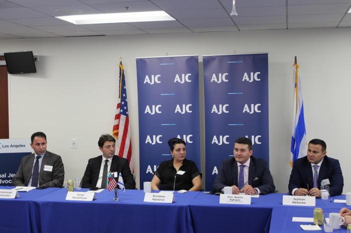 AzerbaijaniCommunity of Nagorno-Karabakhhosted atAmerican Jewish Committee