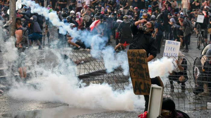 Pese a represión policial en Chile continúan las protestas