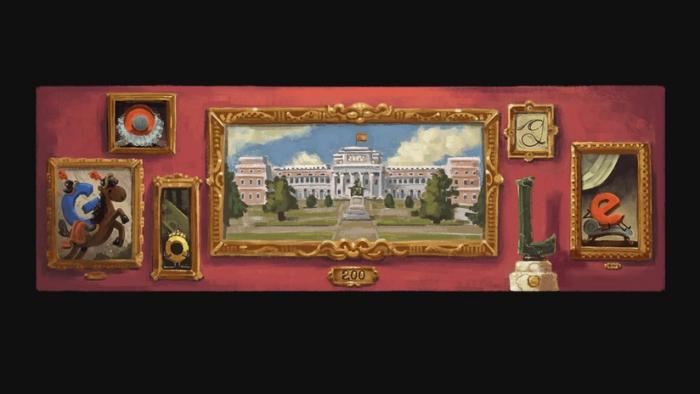Google celebra el 200.º aniversario del Museo del Prado con un
