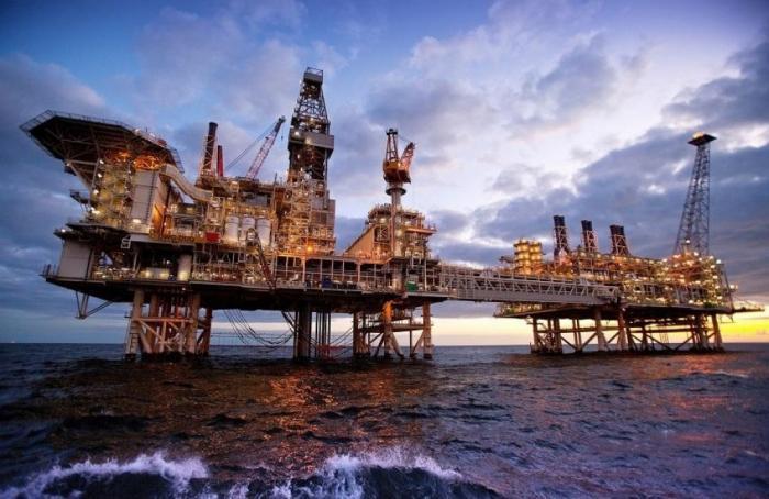 El índice de la producción del petróleo y del gas natural