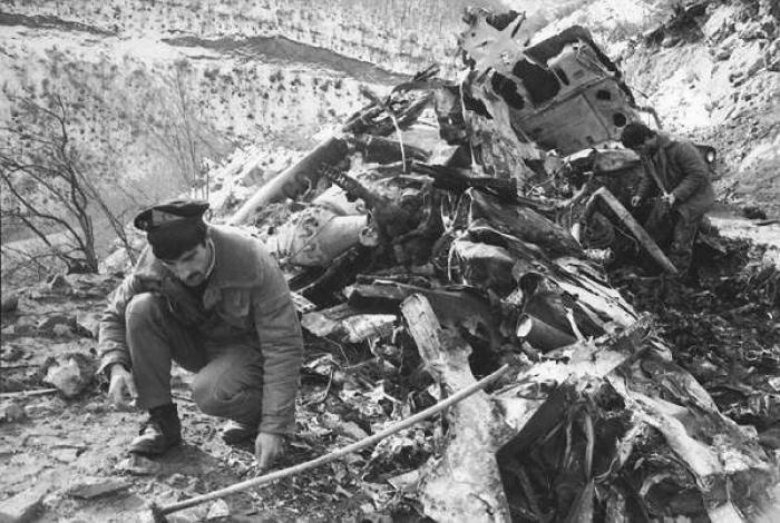 Pasaron 28 años desde la tragedia del helicóptero Garakand