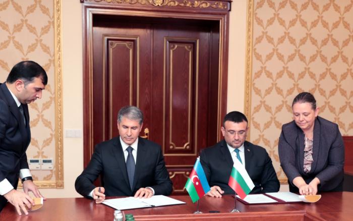 Azərbaycanla Bolqarıstan arasında protokol imzalandı