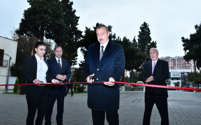 """Sumqayıtda """"Nizami"""" kinoteatrının yeni binası açıldı - Yenilənib"""
