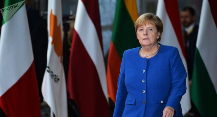 Merkel bekennt sich zur Nato:   Alte Ordnung nicht auf den Kopf stellen