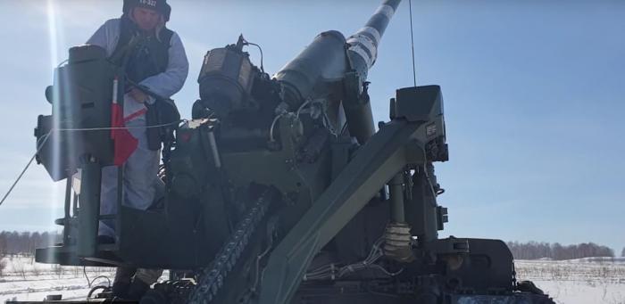 Verteidigungsministerium Russlands testet eine der stärksten Kanonen weltweit –   Video