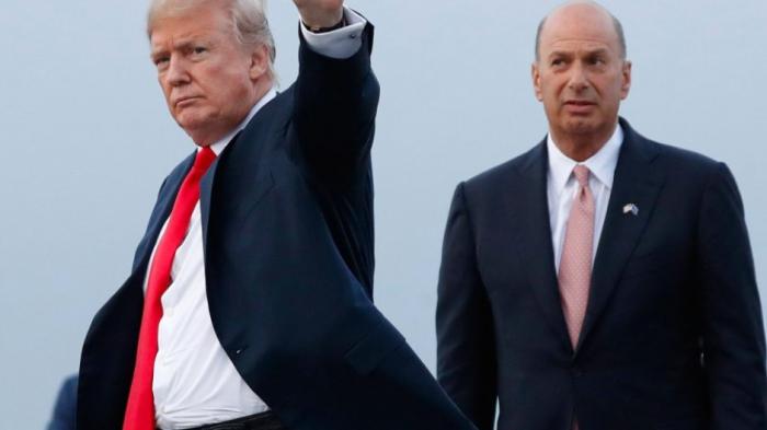 Sondland-Aussage über Trumpin der Ukraineaffäre