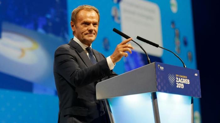 Tusk wird neuer EVP-Chef