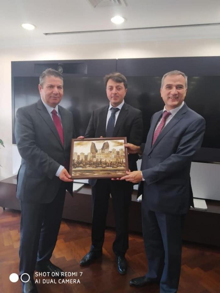 Tural Ganjaliyev se reúne con el viceministro exterior de Turquía