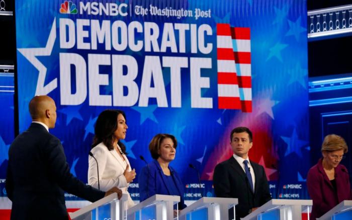 Five takeaways   from the latest Democratic 2020 presidential debate