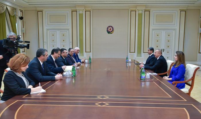Ilham Aliyev recibe al ministro del Interior de Bulgaria