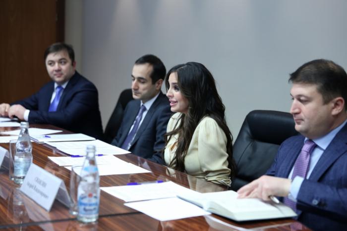 Vicepresidenta de la Fundación Heydar Aliyev mantuvo reuniones bilaterales en Moscú