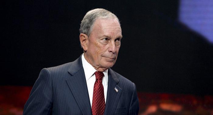 Bloomberg oficializa su candidatura para las presidenciales de EEUU