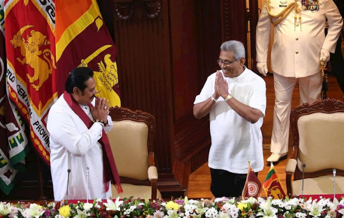 El nuevo Gabinete de Sri Lanka jura su cargo