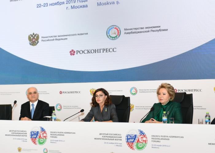Birinci vitse-prezident Forumda iştirak edib - FOTOLAR (Yenilənib)