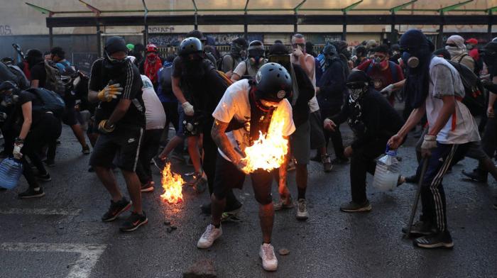 Chile:   La revolución de los muchachos