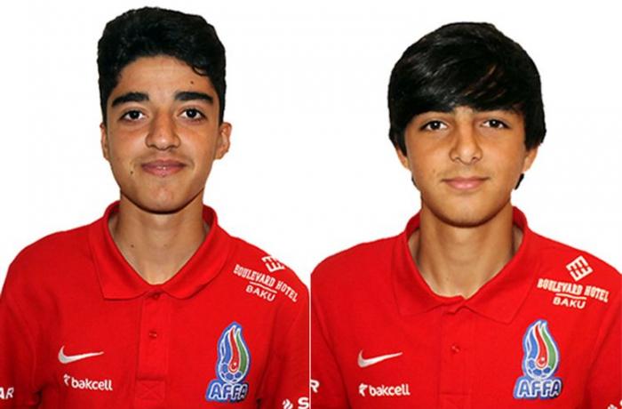 AFFA iki futbolçunu Barselonaya göndərib
