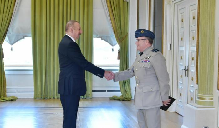 Prezident NATO-nun Hərbi Komitəsinin sədrini qəbul edib - Yenilənib