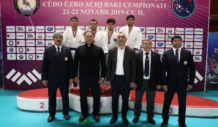 Cüdo üzrə Bakı çempionatının qalibləri bəlli oldu