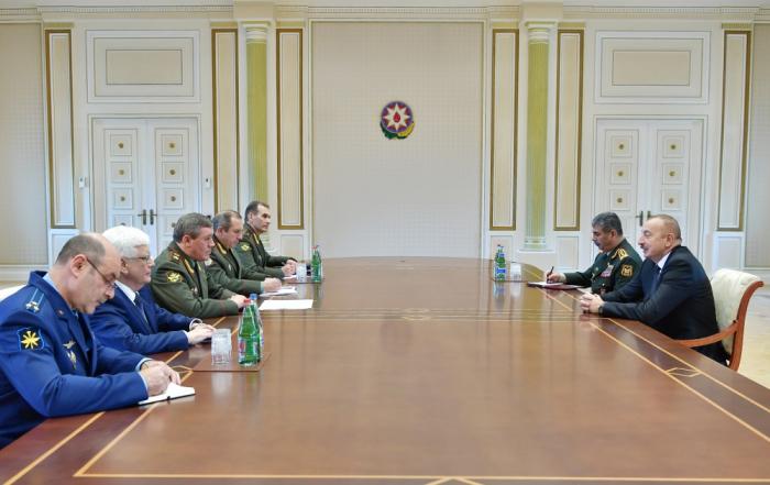 Gerasimov Bakıya gəldi, İlham Əliyevin qəbulunda oldu - Yenilənib
