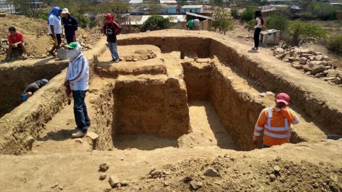 Hallan en Perú un templo de una extraña civilización