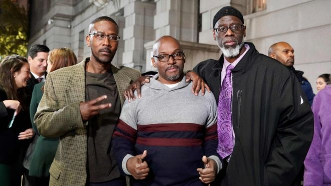 Maryland trio set free after being wrongfully jailed for 36 years