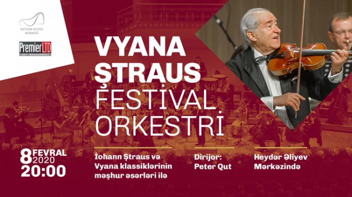 Vyana Ştraus Festival Orkestri Heydər Əliyev Mərkəzində
