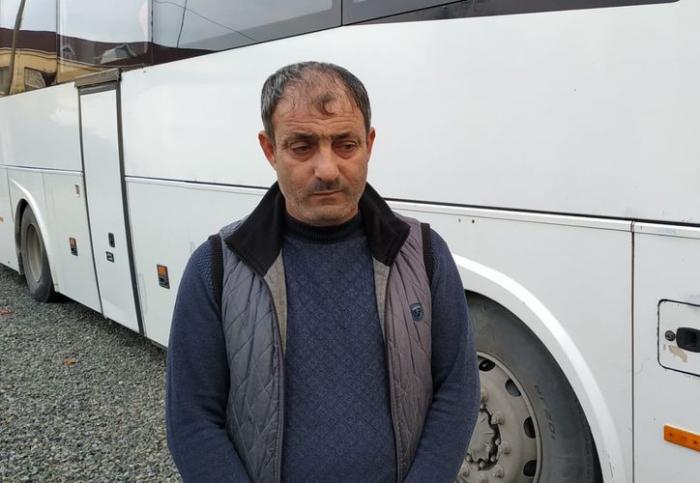 Narkotikin təsiri altında avtobus idarə edən sürücü saxlanıldı - FOTO