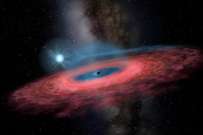 Chinese astronomers discover unexpected huge stellar black hole