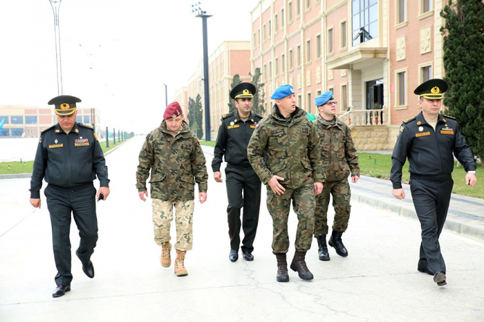 Delegation of Polish Armed Forces visits Azerbaijan