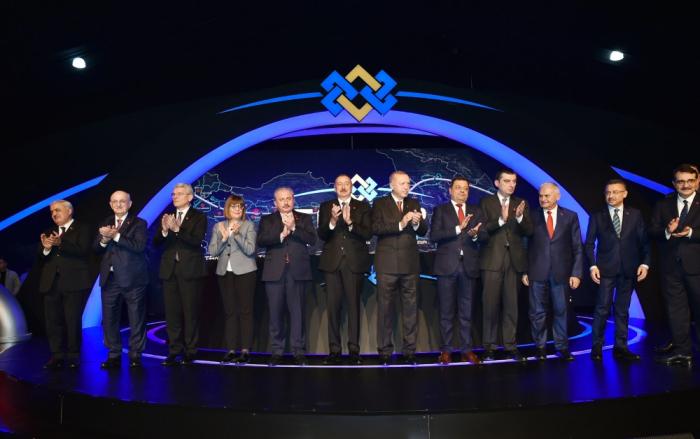 Prezident TANAP-ın Avropa ilə birləşən hissəsinin açılışında - VİDEO (YENİLƏNİB)