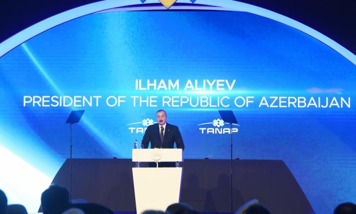 Ilham Aliyev:   « Le corridor gazier sud doit être mis en service à temps»