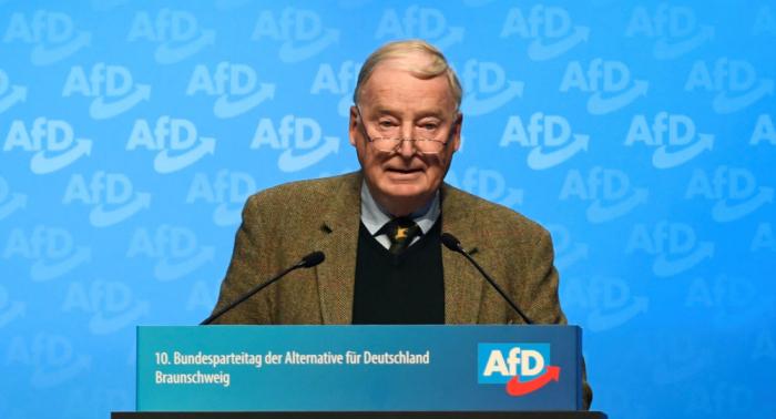 """""""CDU zerfällt jetzt, SPD schon ruiniert"""": Scheidender AfD-Chef Gauland eröffnet Parteitag"""