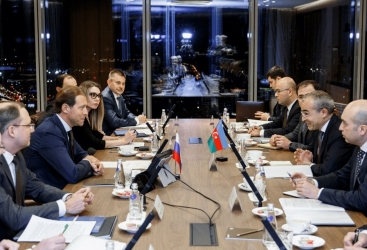 Ministro de Economía mantiene reunión de negocios en Moscú