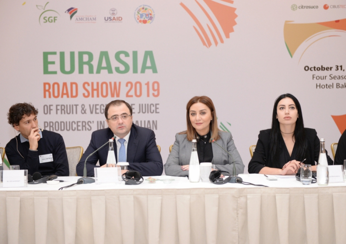 Baku hosts forum of international producers of fruits and vegetables